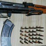 1 milyon lira ödülle aranan teröristten 2 adet el bombasıyla 1 adet kaleşnikof ele geçirildi