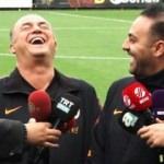 Hasan Şaş'tan herkesi kahkahaya boğan espri!