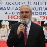 Aksaray'da 4-6 yaş gurubu Kur'an öğrencileri için kapanış programı