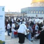 Sadakataşı'ndan Aksa avlusunda yetim ailelere iftar