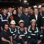 Bakan Zehra Zümrüt Selçuk ve Mustafa Varank işçilerle sahur yaptı
