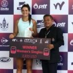 İpek Soylu'dan Tayland'da şampiyonluk