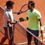 Tarihi maçta zafer Nadal'ın! Federer yıkıldı...
