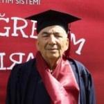 70 yaşında 2. üniversiteyi bitirdi!