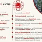 Erdoğan paylaştı! İşte yeni sistemin detayları!