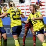 İsveç'ten Tayland'a 5 gol