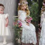 En şirin bebek ve çocuk gelinlik modelleri