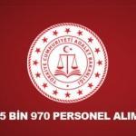 Adalet Bakanlığı 5 bin 970 personel alımı! Başvurular ne zaman?