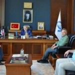 Esnaf Odaları Birlik Başkanından Rektör Şahin'e ziyaret