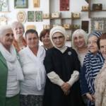 Emine Erdoğan Srebrenitsa anneleriyle bir arada