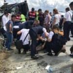 İstanbul Havalimanı yolunda feci kaza: 34 yaralı