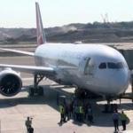 THY'nin rüya uçağı, Trabzon'a uçtu