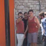 Psikolojisi bozuk turist Taksim'i birbirine kattı