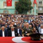 Samsun'da şehit Binbaşı Zafer Akkuş'a son görev