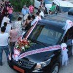 Tunceli Valisi'nin makam aracı, gelin arabası oldu