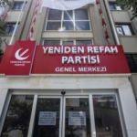 Yeniden Refah Partisi, tabelasını astı