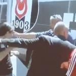 Beşiktaşlı taraftardan Orhan Ak'a tepki!