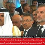Çok üzgündüler! Fuat Oktay ve Katar Emiri böyle görüntülendi
