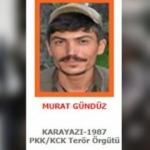 Terörist Murat Gündüz öldürüldü