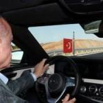 Erdoğan direksiyon başına geçti