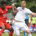 Konyaspor, Twente'ye mağlup oldu