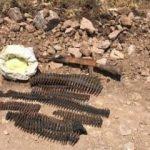 Pervari'de PKK'nın silah ve mühimmatı ele geçirildi
