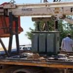 Siverek'te kaçak mobil trafo ele geçirildi