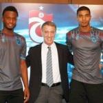 Trabzonspor'da 2 yıldız imzayı attı