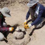 Van'da bulunan 2750 yıllık mezar araştırılıyor