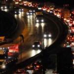 Tatilciler yollara döküldü! Trafik yoğunluğu arttı!