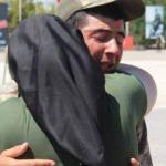 Yemin töreninde askerin duygulandıran anları