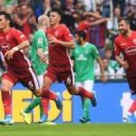 Bundesliga maçına milli yıldızlar damga vurdu!