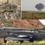 Rus yapımı savaş uçağı Su-22 Suriye'de düşürüldü! Onlar düşürmüş