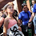 16 yaşındaki aktivistten BM önünde eylem!