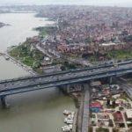 Eminönü-Alibeyköy tramvay hattında altyapı çalışması