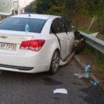 Emniyet şeridinde feci kaza: 1 ölü 9 yaralı