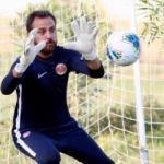 Erkan Kolçak Köstendil Antalyasporlu futbolcularla idman yaptı