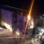 Tur otobüsü şarampole devrildi: Çok sayıda yaralı var!
