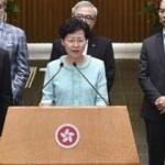 Hong Kong  geri adım attı: Resmi açıklama bekleniyor