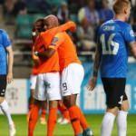 Babel'den gol şov! Hollanda farklı kazandı!