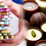 Çikolata ve antibiyotik ilaçları beraber tüketmeyin!