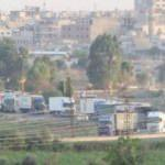 Suriye'den Irak'a giden ABD konvoyu görüntülendi