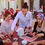 Amasya'da kadınlara özel çayevi
