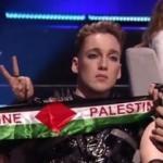 Eurovision'da Filistin bayrağı açmışlardı! Ceza verildi
