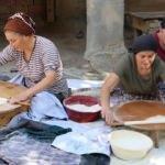 Köylerde kış hazırlığı imece usulü başladı