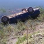 Otomobil kanala uçtu: 90 yaşındaki sürücü hayatını kaybetti