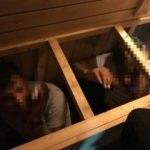 Polis harekete geçti! Saunada böyle yakalandılar...