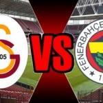 Galatasaray Fenerbahçe derbisi saat kaçta? Hangi kanalda yayınlanacak?