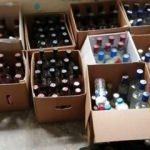 Muğla'da sahte içki operasyonu: 7 bin şişe ele geçirildi