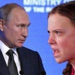 Putin'den dikkat çeken Greta yorumu! Afrika ve Asya'yı örnek verdi
